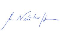 Unterschrift des Rechtsanwalts Andreas Neuhoff
